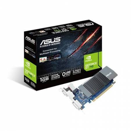 VGA ASUS GT710 SL 1GD5 BRK BRACKET LOW PROFILE INCLUIDO