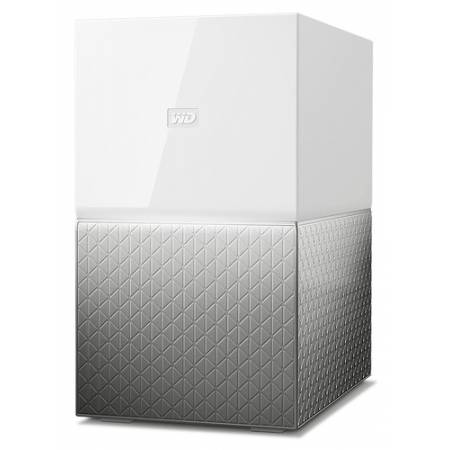 Western Digital My Cloud Home Duo 4TB Ethernet Gris dispositivo de almacenamiento personal en la nub